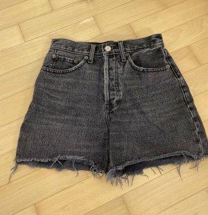 Abercrombie & Fitch Short zwart-grijs