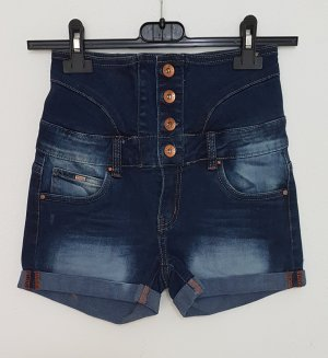 Toxik3 Denim Shorts multicolored