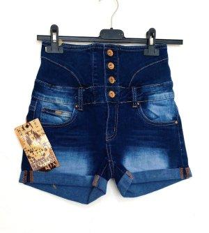 Toxik3 Short en jean multicolore