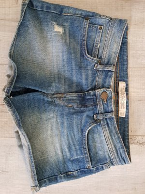 Jeans Shorts Used Look