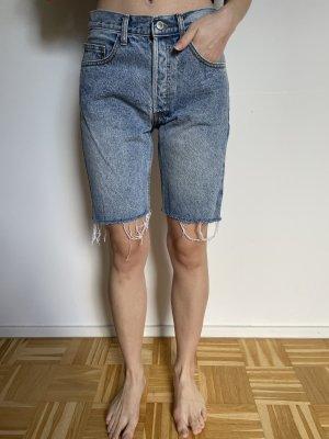 Brandy & Melville Pantaloncino di jeans azzurro-blu