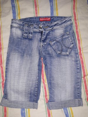 BLUE COLLECTION Denim Shorts multicolored