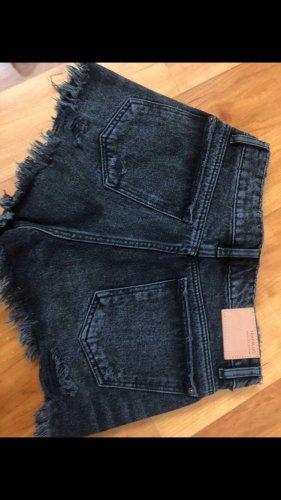 Jeans Shorts Zara schwarz neu und ungetragen