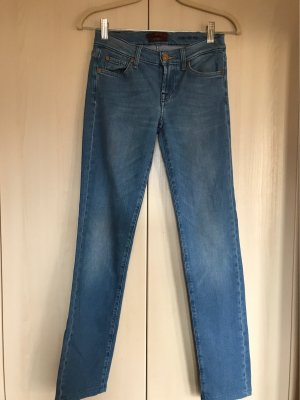 7 For All Mankind Jeans slim fit blu fiordaliso