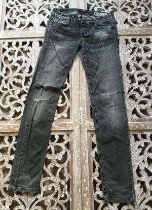 Sisley Jeansy z prostymi nogawkami Wielokolorowy Bawełna