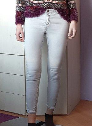 Pimkie pantalón de cintura baja gris claro-gris Algodón
