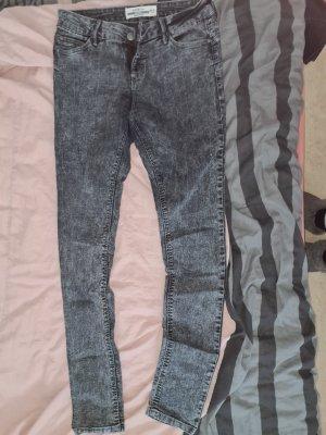 Kik Drainpipe Trousers black