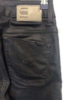 Jeans skinny fit in Glanzoptik