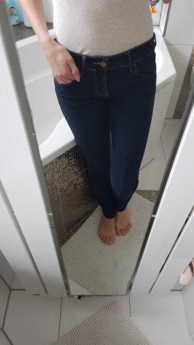 Jeans Skinny Low Waist 》Gr. 25/32 》dunkelblau