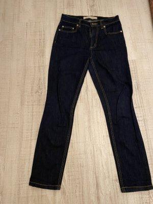 Marc Jacobs Jeansy o obcisłym kroju ciemnoniebieski Denim