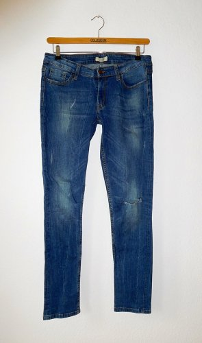 Jeans Skinny / Pimkie / 42 / Denim destroyed vintage