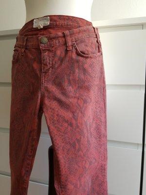 Current/elliott Jeans skinny antracite-rosso scuro