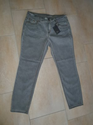 Jeans Slim fit stretch grau BC Best connections by Heine Neu Kurzgröße 42