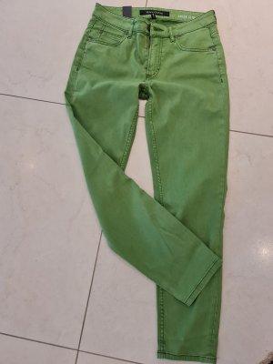 Jeans Slim grün