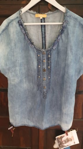 Jeans sommerbluse