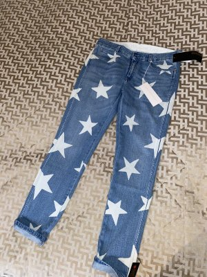 Stella Maccartney Jeans boyfriend bleu azur