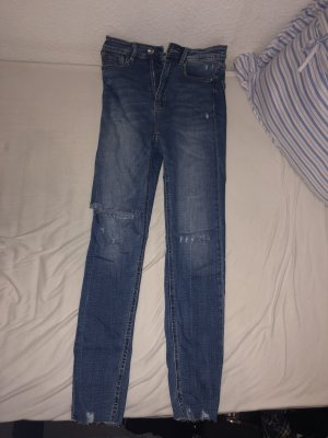 Stradivarius Jeans skinny blu