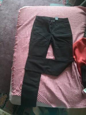 H&M Divided Jeansy z prostymi nogawkami czarny