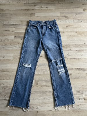 Pull & Bear Jeans a gamba dritta blu fiordaliso
