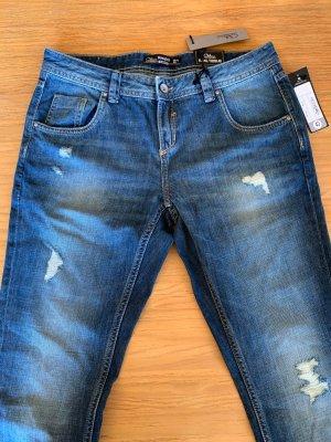 Clockhouse Jeansy z prostymi nogawkami niebieski-stalowy niebieski