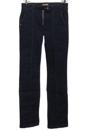 Jeans Straight-Leg Jeans blau Casual-Look