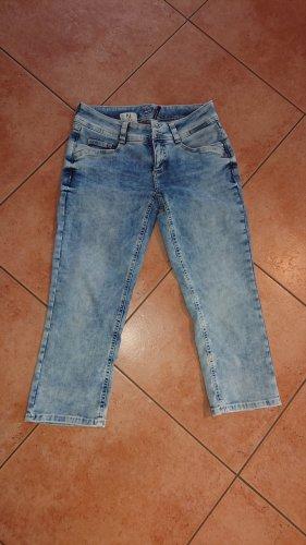 Street One Pantalone a 3/4 blu pallido