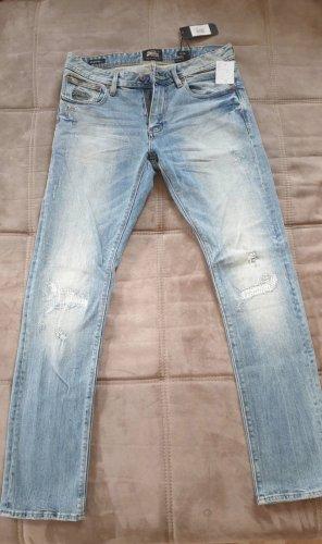 Superdry Jeans slim fit blu