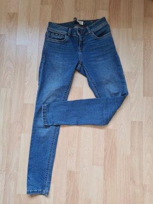 Jeans Superdry Damen Blau Gr. 26 / 30 XS
