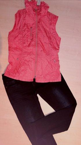 Superstar Jeans elasticizzati nero-arancione