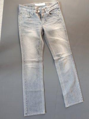 Take Two Jeans a gamba dritta blu pallido-grigio ardesia Cotone