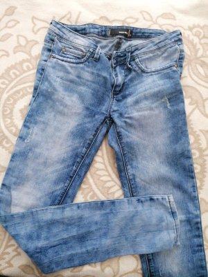 Tally Weijl Low-Rise Trousers cornflower blue