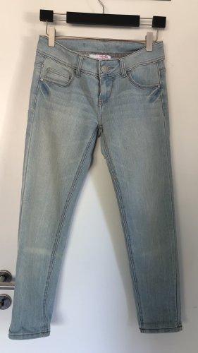 Tally Weijl Jeansy z prostymi nogawkami błękitny-jasnoniebieski