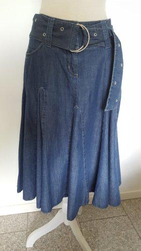 Next Spódnica z koła stalowy niebieski