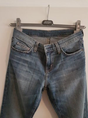 Jeans a sigaretta grigio ardesia-blu acciaio