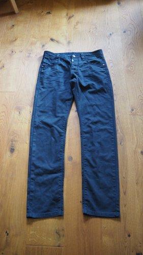 Timezone Jeans coupe-droite noir coton