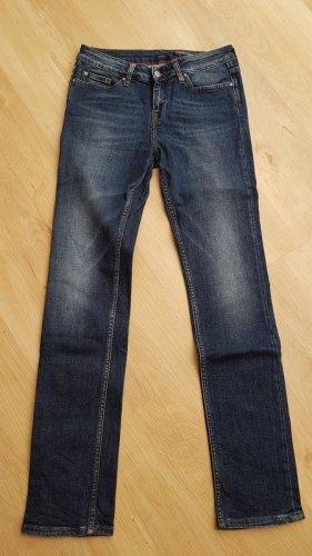 Tommy Hilfiger Straight Leg Jeans steel blue cotton