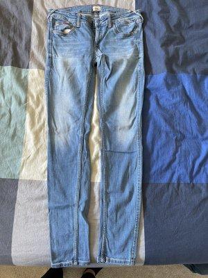 Tommy Hilfiger Denim Spodnie biodrówki niebieski