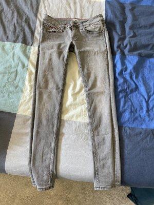 Tommy Hilfiger Denim Spodnie biodrówki szary