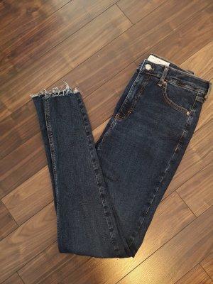 Jeans, topshop, blau, skinny
