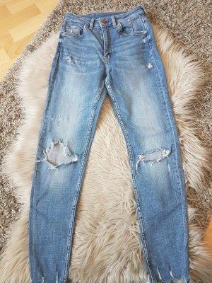 Jeans trashed