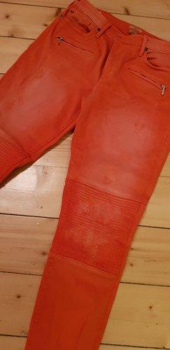 True Religion Tube jeans licht Oranje