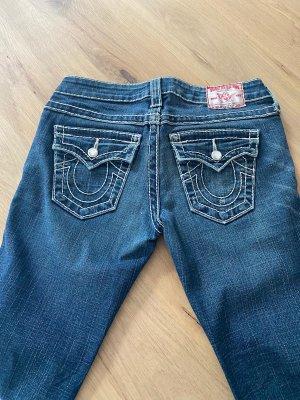 True Religion Low Rise Jeans blue