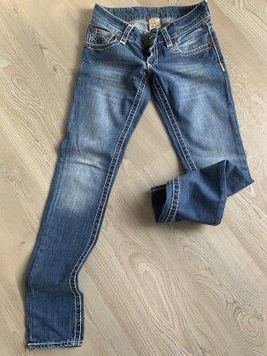 True Religion Jeans slim fit blu