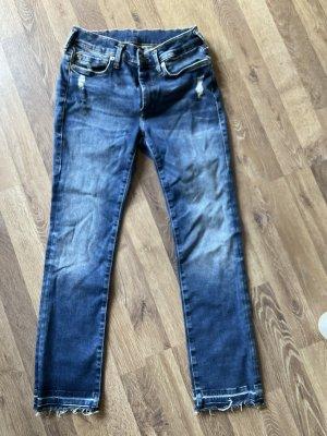 True Religion Skinny Jeans steel blue