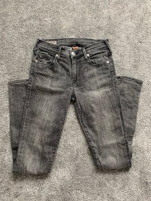 Jeans True Religion Halle Größe 25 grau