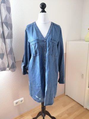 H&M Jeansowa koszula jasnoniebieski Lyocell