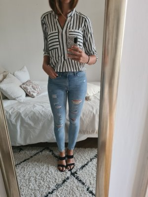 Jeans, used look, 38