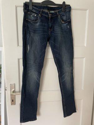 H&M Jeans elasticizzati blu scuro