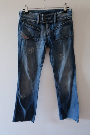 Diesel Industry 3/4 Length Jeans blue cotton