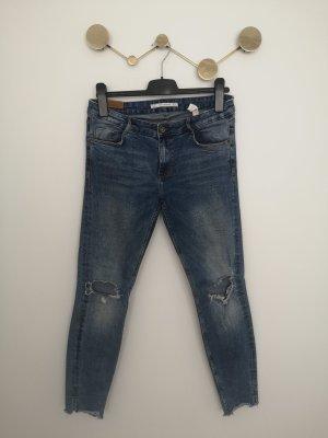 Jeans Used Look, Gr. 40, Zara
